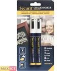 Securit Set van 2 Medium Krijtstiften   Wit   2-6mm