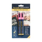 Securit Set of 2 Medium Chalksticks | Pink | 2-6mm