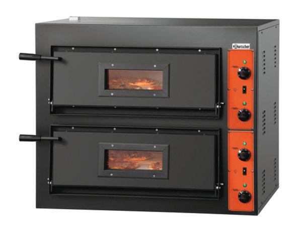 Bartscher Pizza Oven Dubbel Elektrisch | 2 x 4 Pizza's Ø30cm | 380V | 8,4kW | 890x880x(H)750mm