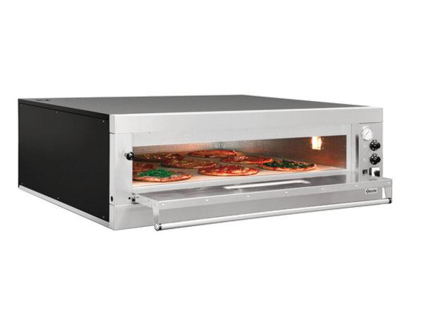 Bartscher Pizza Oven Enkel Elektrisch | 9 Pizza's 33cm | 400V | 12kW | 1310x1270x(H)420mm