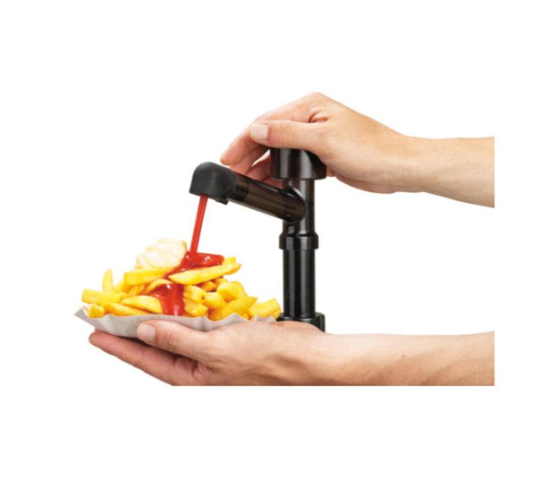 Bartscher Komplette sausdispencer mit einer Pumpe - 3,3 Liter