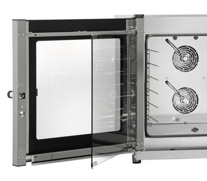 Bartscher Konvektomatenblech mit Dampf Kombi - 920x1050x840 (h) mm - für 6x 600x400 mm