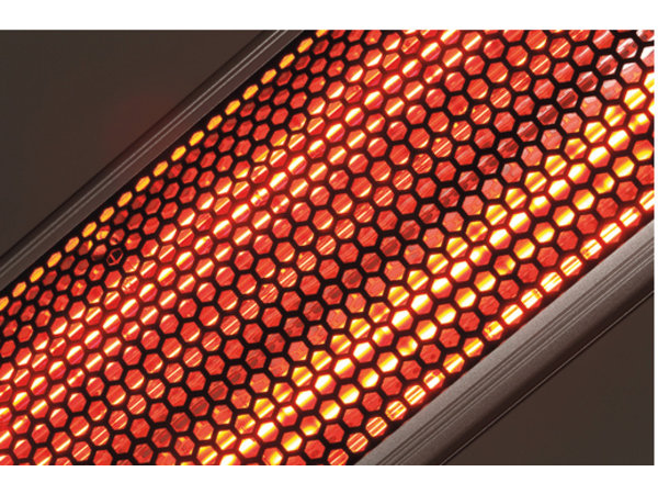 Bartscher Electric Infrared Heater | Aluminium | 3 Setting options | Incl. Remote control