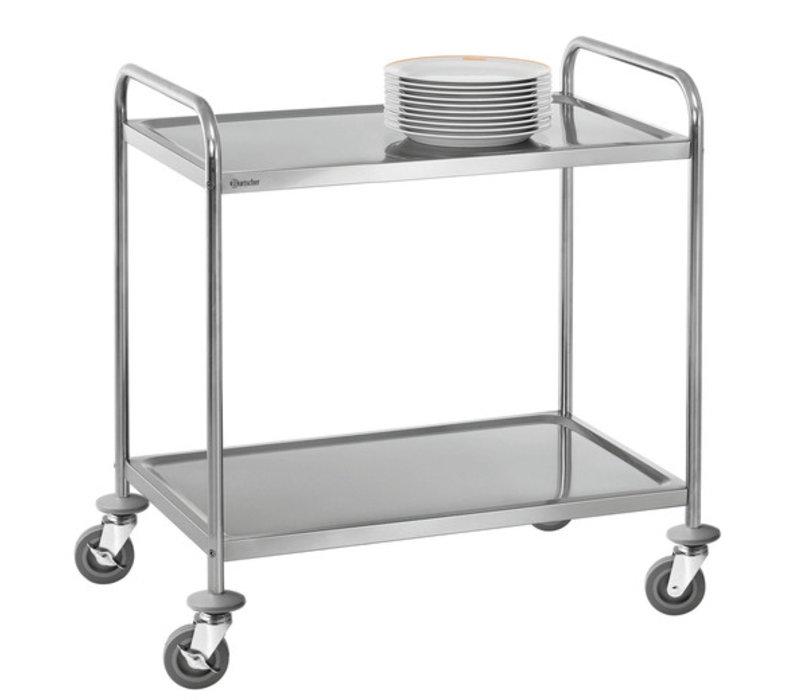 Bartscher Trolley - 2 Blatt - 920x600x945mm - 100Kg