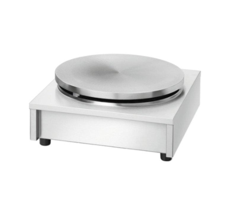 Bartscher Professional CrepeMaker on Gas | Single | 6 kW | 40 cm diameter + Scraper