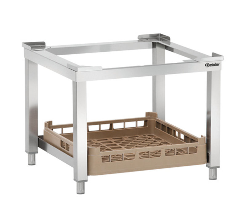 onderstel tbv vaatwasser kopen bartscher 109688 xxlhoreca. Black Bedroom Furniture Sets. Home Design Ideas