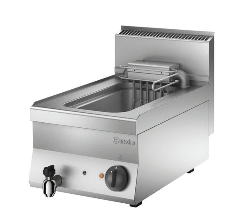 Bartscher Friteuse Elektrisch   Met Uitklapbaar Verwarmingselement   10 Liter   400V   9kW   400x650x(H)295mm