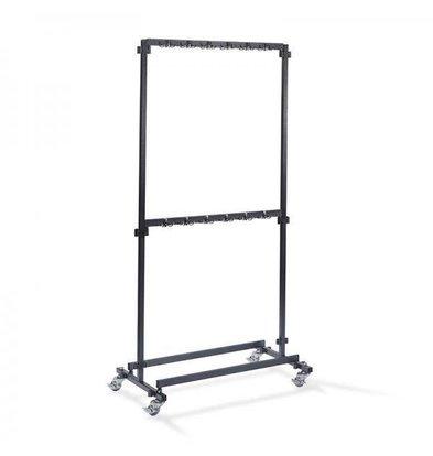 XXLselect Garderoberek für Bar 1m | 48 Halterungen | 1000x600x2000 (h) mm