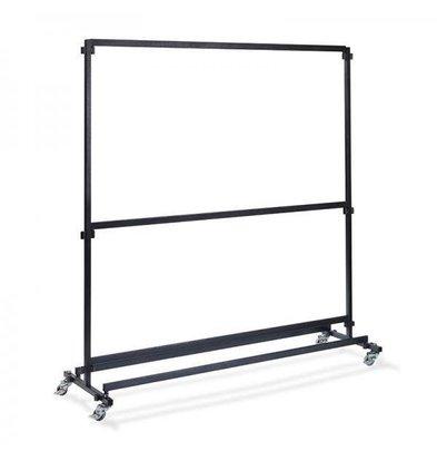 XXLselect Garderoberek für Bar 2m | Ohne Haken | 1920x600x2000 (h) mm