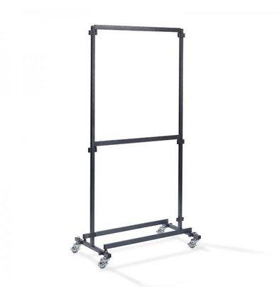 XXLselect Garderoberek für Bar 1m | Ohne Haken | 1000x600x2000 (h) mm