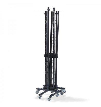 XXLselect Trolley für Kleiderbügel KLEIN | 2 Racks | 250x230x830 (h) mm