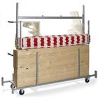 XXLselect Trolley voor Marktkraam   720x2415x1980(h)mm