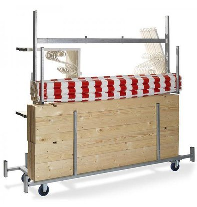 XXLselect Trolley voor Marktkraam | 720x2415x1980(h)mm