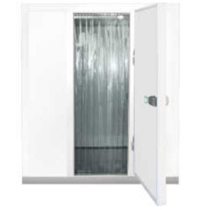 Diamond Vorhang mit Streifen für Türen Kühlraum | 730x1900 (h) mm