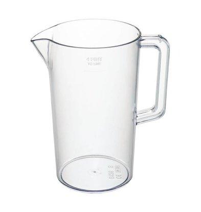 XXLselect Schenkkan | 2,3 Liter | Kunststof ideaal voor Bier | Ø135x(H)235mm