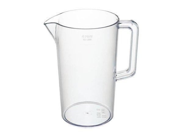 XXLselect jug | 2.3 Liter | Plastic ideal for Beer | Ø135x (H) 235mm