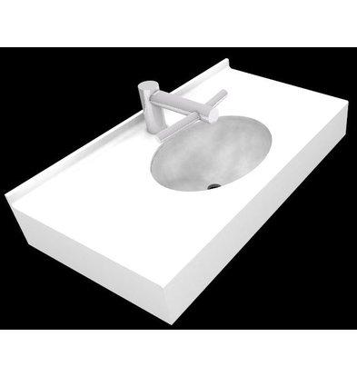XXLselect Optie: Wastafel Florence | Speciaal voor DYSON Tap Handdrogers | Offerte op Maat