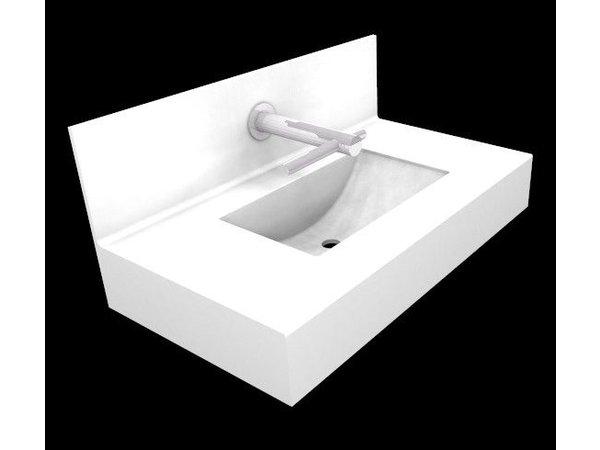 Wastafel Op Maat : Xxlselect optie wastafel swing speciaal voor dyson tap