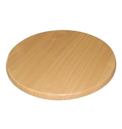 XXLselect Table leaf round | Beech | Ø800x30 (h) mm