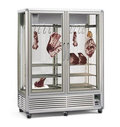 XXLselect Maturation Closet / Dry Aged Beef - 1150 Liters - 155x73x (h) 201cm - With 2x2 Meat Ones