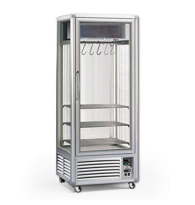 XXLselect Ausreifung Closet / Dry Aged Beef - 550 Liter - 80x73x (h) 201cm - mit 2 Fleisch Ones