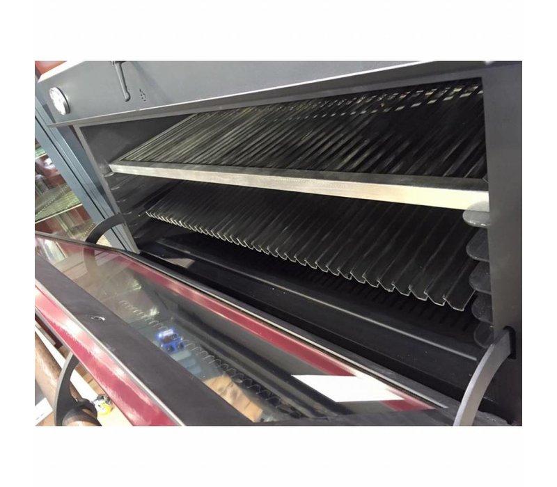 Diamond Charcoal Oven - BBQ | GN1 / 1 | 60kg / h | 706x613 (925) xh690mm