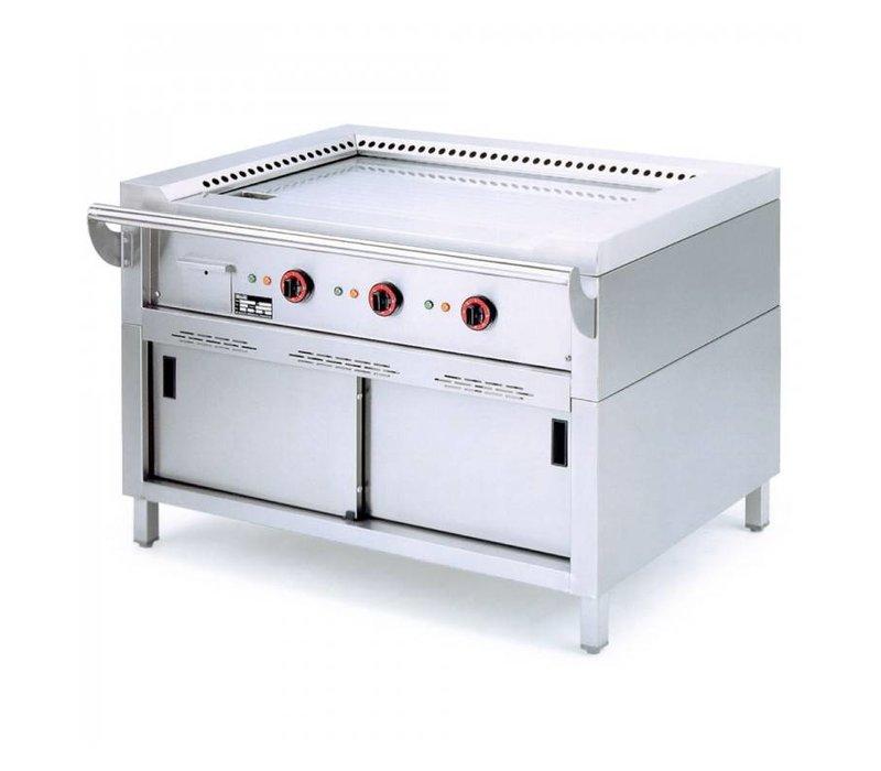 Diamond Teppanyaki Grill Electric 2 x 3.5 KW with Mount - 120x77x85cm