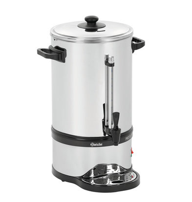 Bartscher Stainless Percolator | With cup Standard | Ø270x (H) 575mm | 100 Cups | 15 Liter | PROFESSIONAL