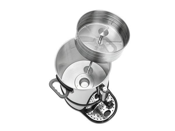 Bartscher Stainless Percolator   Mit Cup Serien-   Ø270x (H) 575mm   100 Cups   15 Liter   PROFESSIONAL
