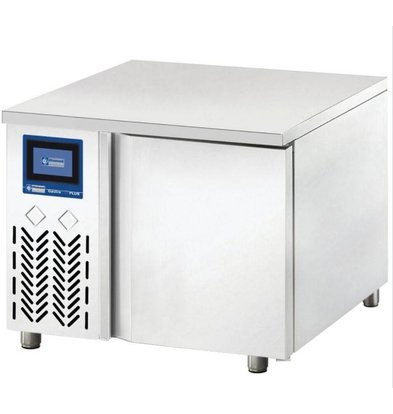 Diamond Quick cooler 3x GN1 / 1 | Touch Screen | 500W | 670x715x500 (h) mm