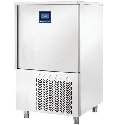 Diamond Blast Chiller / Freezer / Quick Cooler - 10 x 1/1 GN - Touchscreen - 810x830xh1370mm
