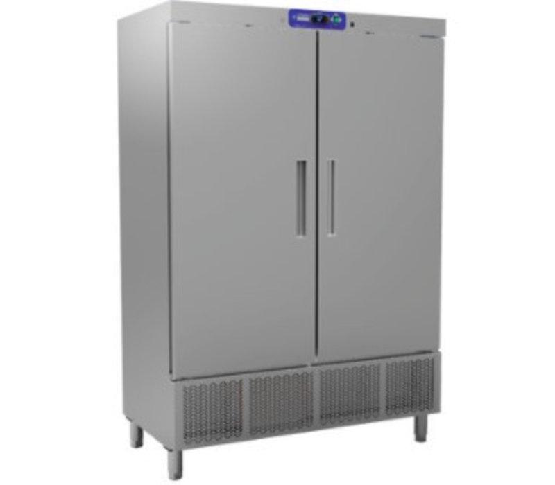Diamond 2 door refrigerator - 1100 Ltr - 138x72x (h) 206cm - Incl six grids