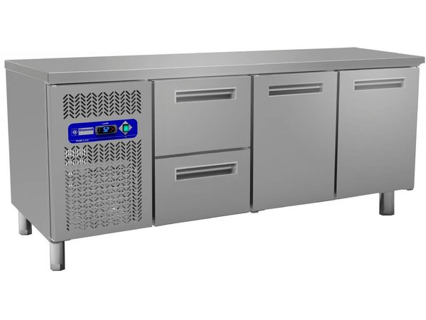 Diamond Kühle Workbench - Türen 2 + 2 Schubladen - 200x60x (h) 88cm - 395 Liter