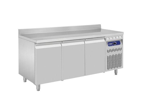 Diamond Cool Workbench with Splash Ridge - 3 door - 175,5x70x (h) 85 / 90cm - European