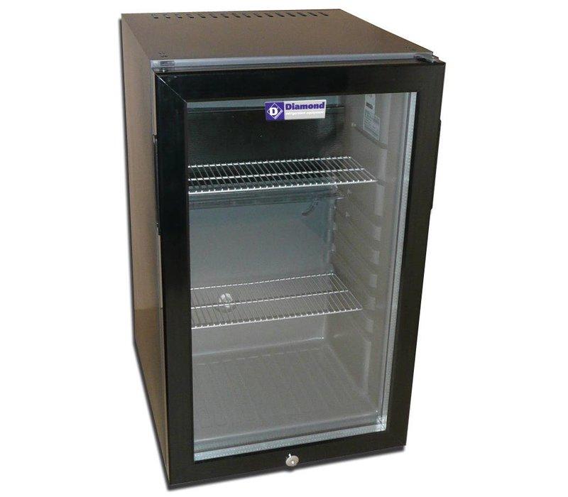 Diamond Minibar - 50 Liter - Glastür - 40x45x (h) 68cm