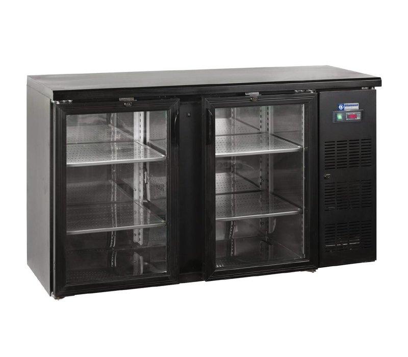 Diamond Flaschenkühler 2 Türen - 290 Liter - 1462x513x (h) 860 mm