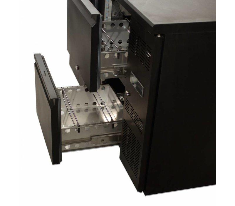 Diamond Flaschen Cooling Door 4 Schubladen 1-460 Liter - 2002x513x (h) 860 mm