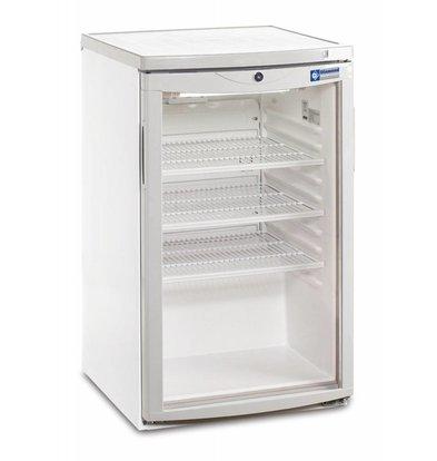 Diamond Kühlschrank - 110 Liter - Glastür - 50x56x (h) 85cm
