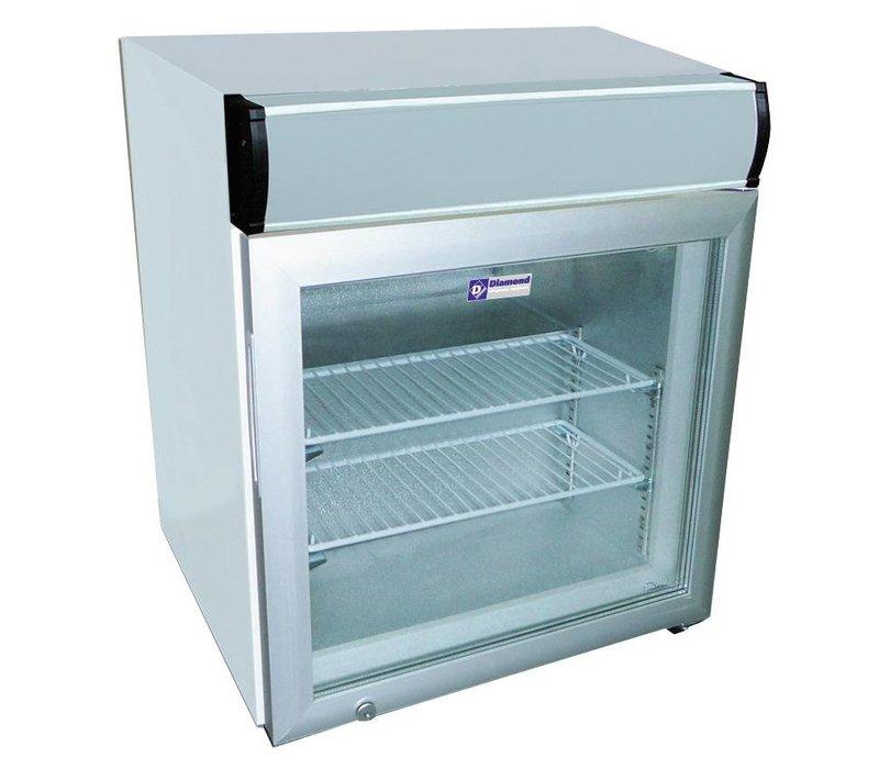 Diamond Freezer - 50 Liter - 57x53x (h) 65-2 grids - With light