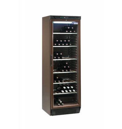 Diamond Wijnklimaatkast - 380 Liter - 6 roosters - Binnenverlichting - 505x462x(H)1555 mm