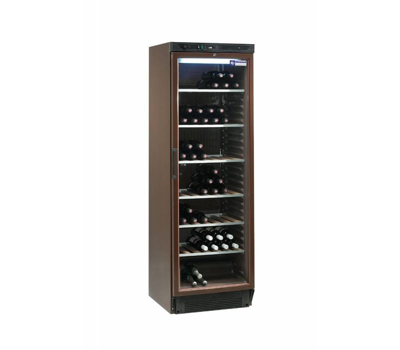 Diamond Wine Climate Cabinet - 380 Liter - six grids - Interior - 505x462x (H) 1555 mm