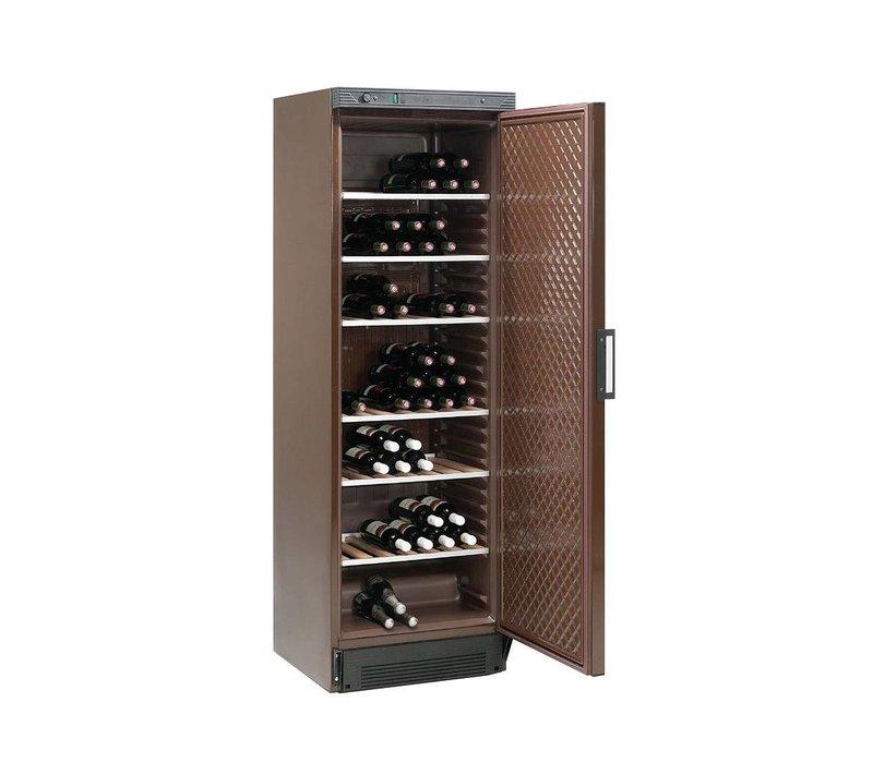 Diamond Weinklimaschrank - 380 Liter - Sechs Grids - braune Bänder - 505x462x (H) 1555 mm
