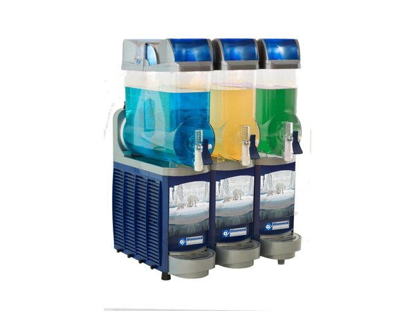 XXLselect Getränkespender gekühlt - 3 x 14 Liter