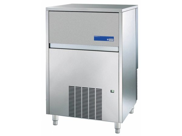 Diamond Ice machine - 105kg / 24hours - with storage - Full cubes - Made in Europe