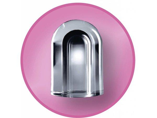 Diamond Ice machine 38kg / 24hr RVS - Storage 12KG - Hol