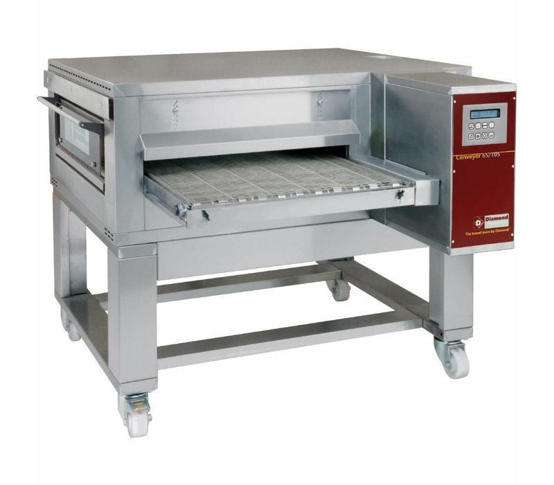 Diamond Tunneloven Geventileerd | Breedte max. 650mm | 400V | 1400x2000xh550/1100mm