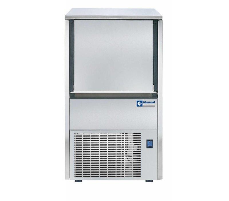Diamond Eismaschine 38kg / 24 RVS - Storage 12KG - Hol