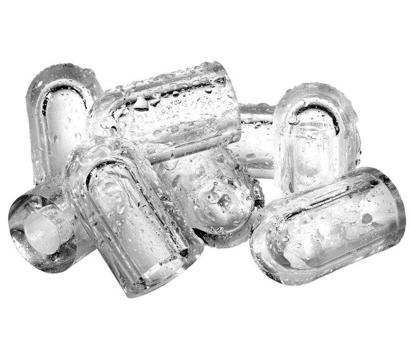 Diamond Ice machine 75kg / 24hr RVS - Storage 37kg - Hol