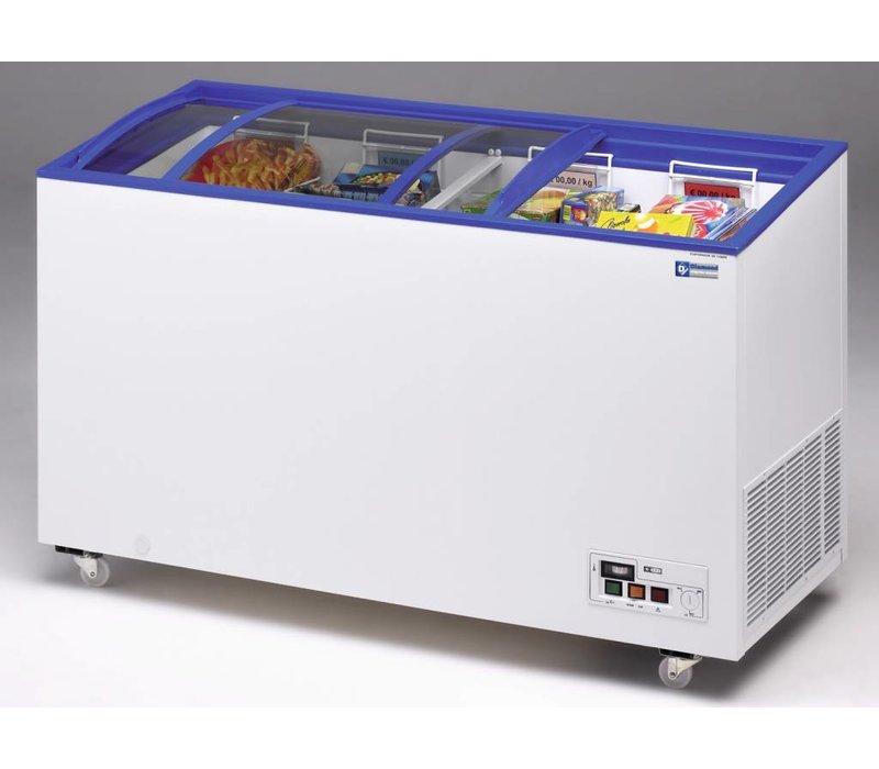 Diamond Freezer - Sliding Glass Lids | -15 ° to -23 ° - 140x60x (h) 73 / 89cm - 392 Liter
