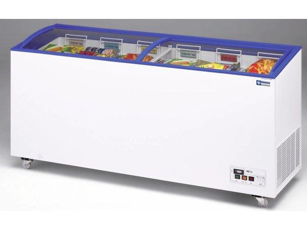 Diamond Freezer with Shutter Glass | -15 ° to -23 ° - 181x60x73 / 89 (h) cm - 527 Liter